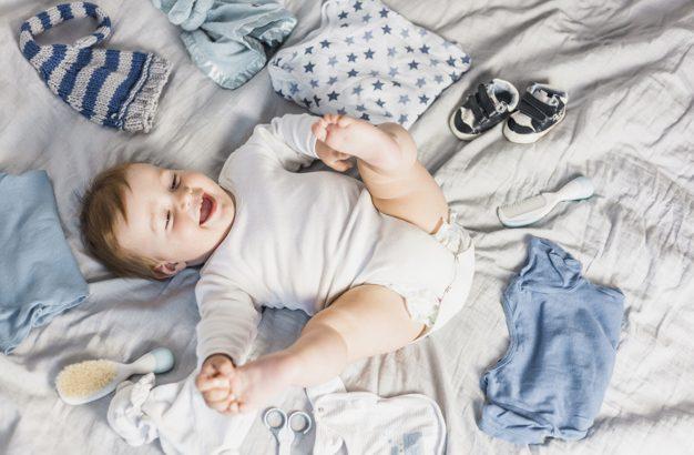 como vestir o bebe de acordo com a temperatura